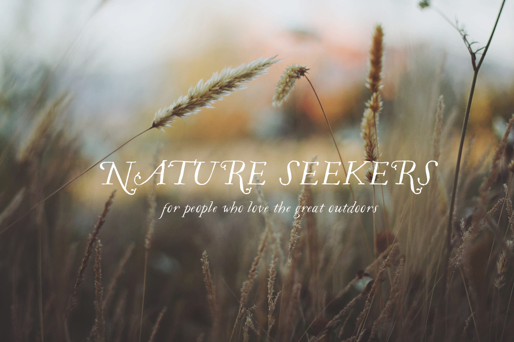 Nature Seekers - a series on people who love the great outdoors