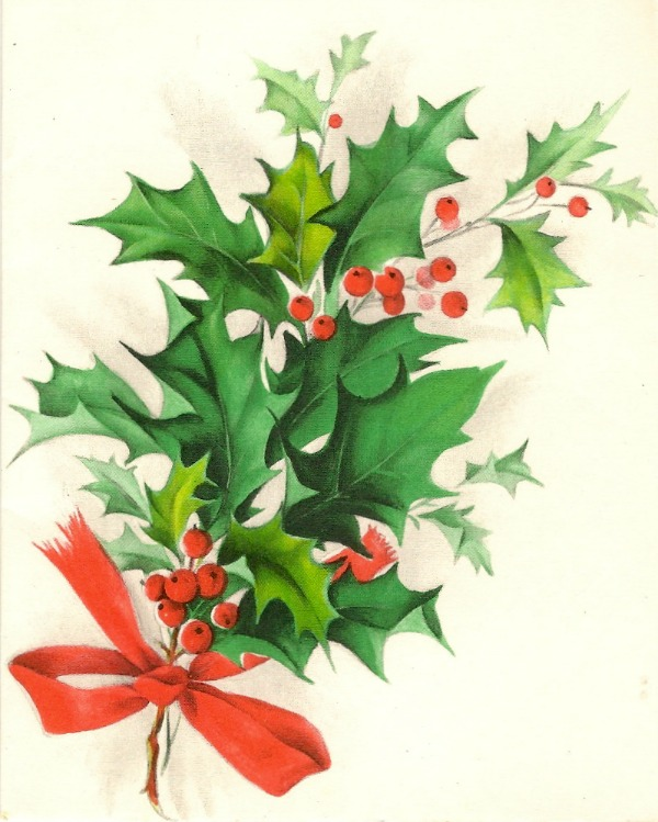 Free to use Vintage Christmas Images from Manneskjur