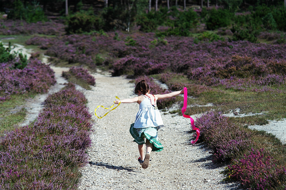 Kid Forest & The Imagination Trunk: Running with Ribbons