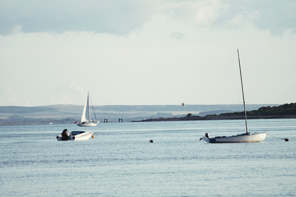 Sailing boats at Calshot
