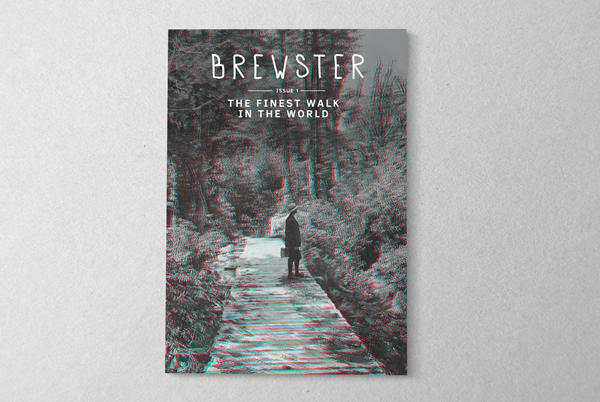 Brewster magazine -  created by sourcing historical stereographs