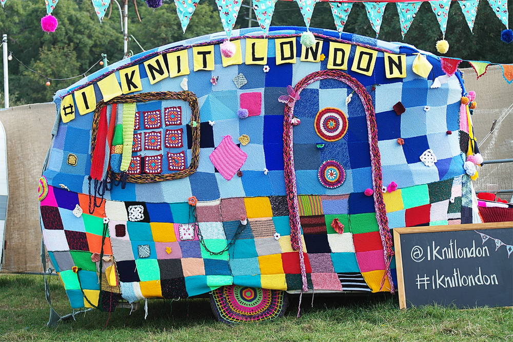 I Knit London at Bestival, 2014