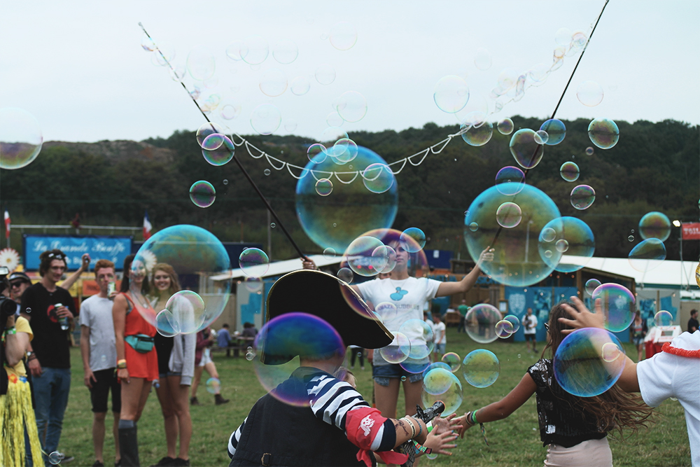Bubble Inc at Bestival, 2014