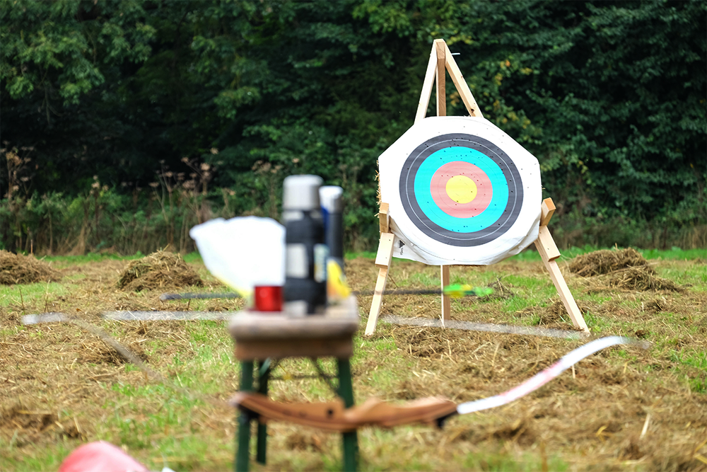 Archery at The Good Life Experience