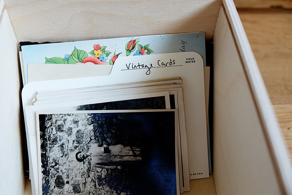 Love Stationery? Love Field Notes, Archival Wooden Box from Bureau Direct