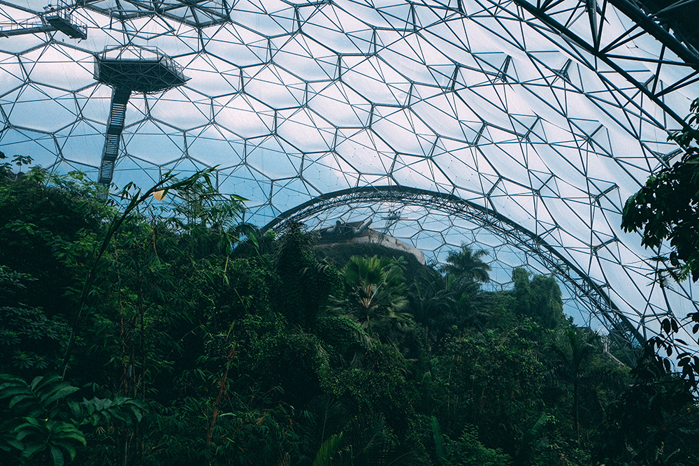 Under the Dome - inside The Eden Projects Biomes