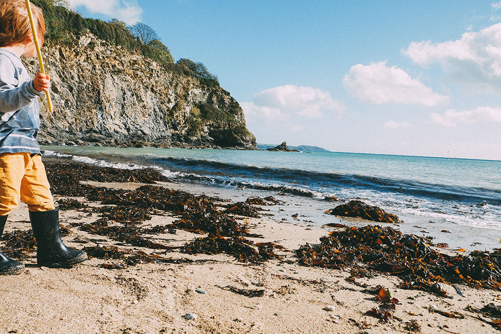 Porthpean Beach, Cornwall