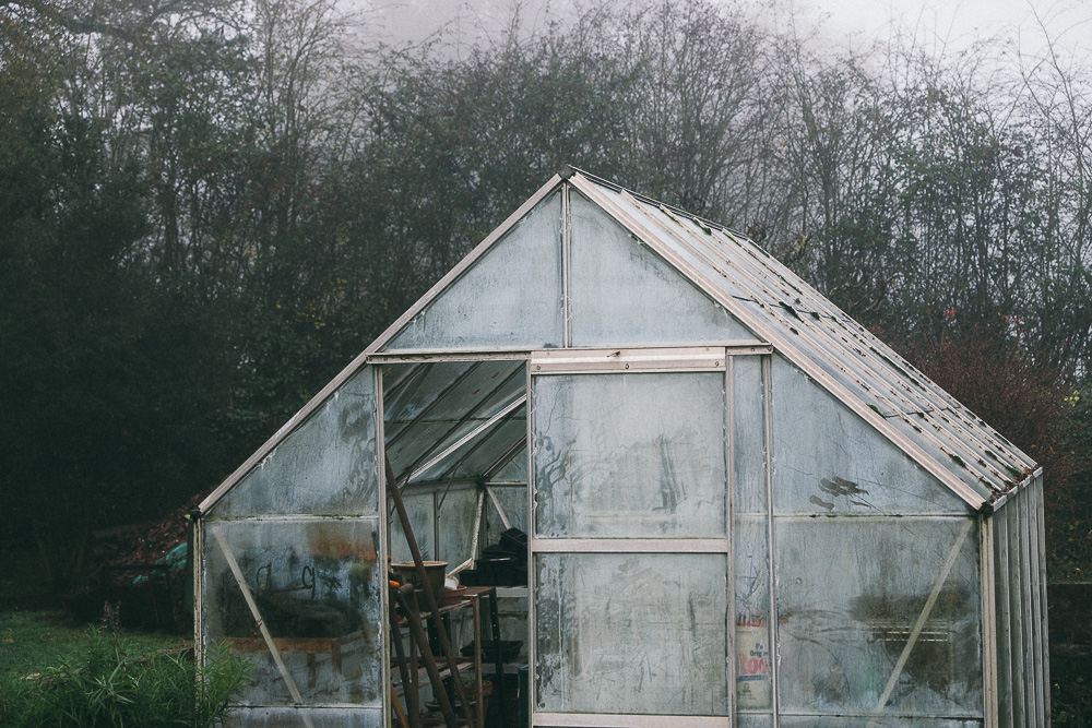 Greenhouse in Autumn