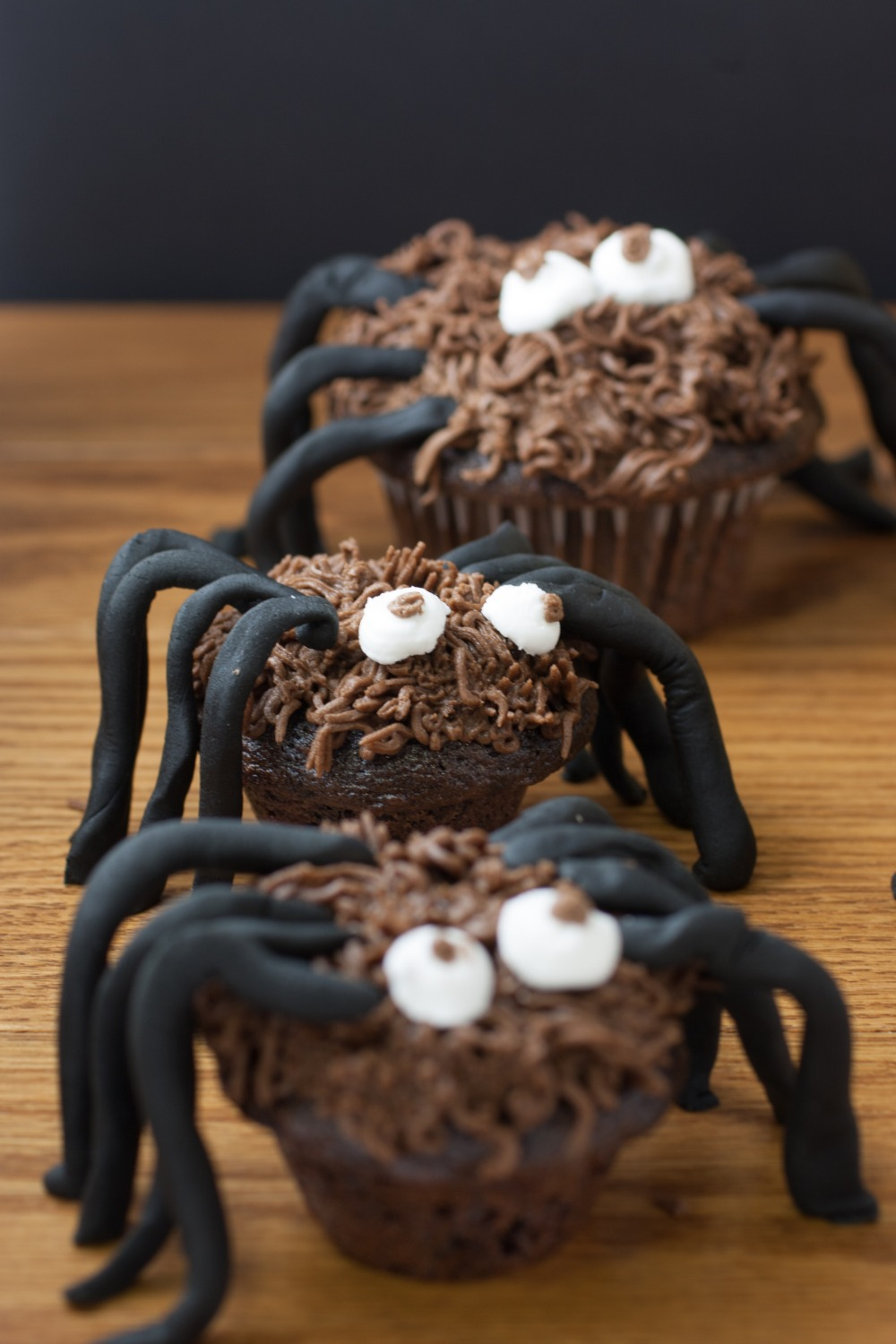 Chocolate Spider Cupcakes