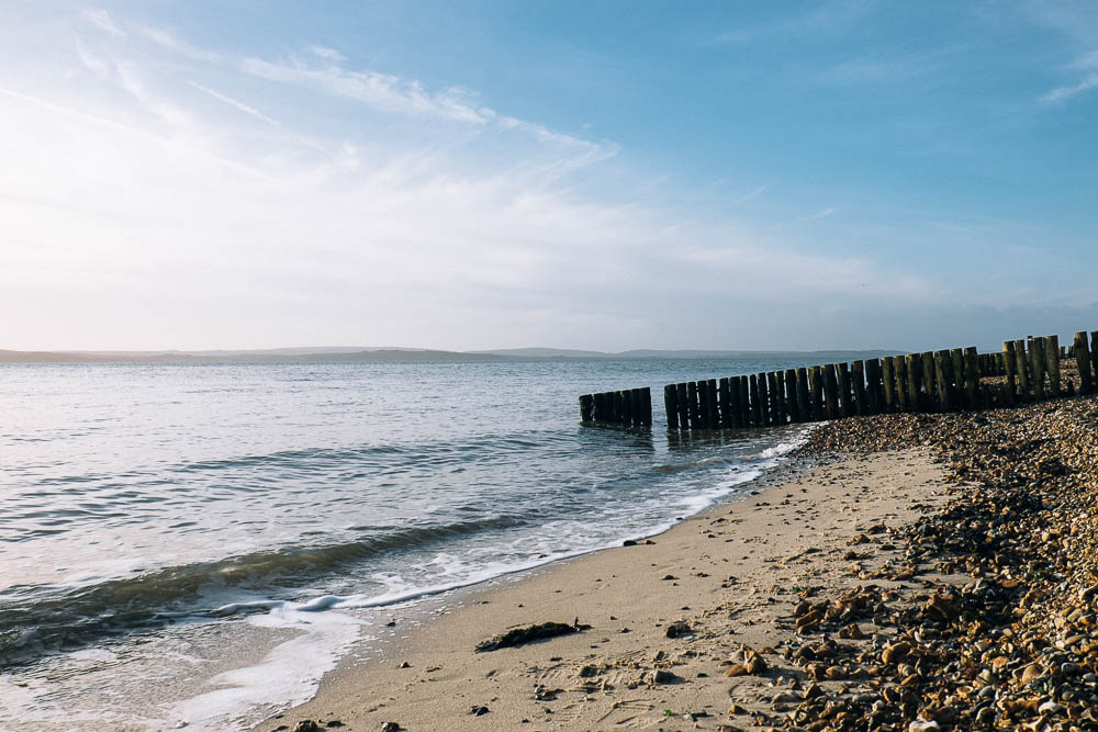 LEPE BEACH IN WINTER