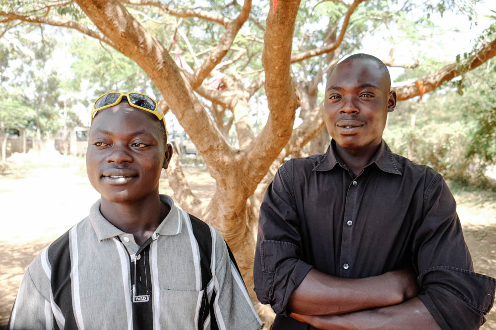 Meet Joseph and Daniel, two men who have turned their lives around thanks to Comic Relief supported project, HOVIC, Kisumu, Kenya