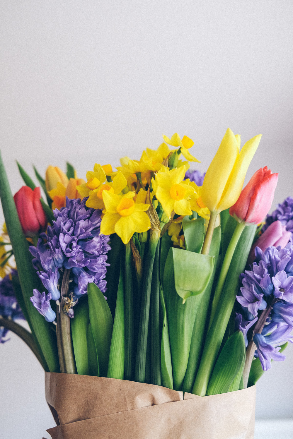 Spring blooms bouquet