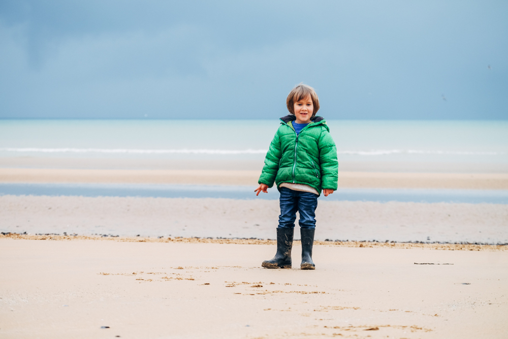 Ozzy at Ohama Beach, Normandy