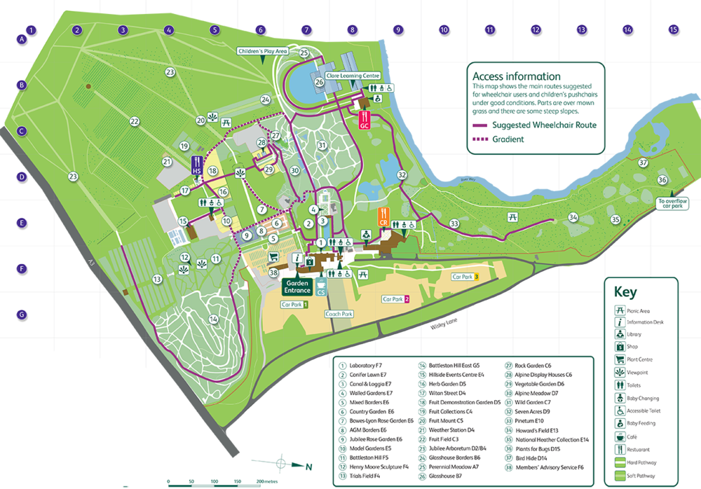 view map online here : https://www.rhs.org.uk/Gardens/PDF/Wisley/VisitorMap