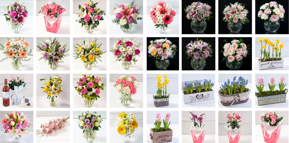 Debenhams Mother's Day Flowers Range