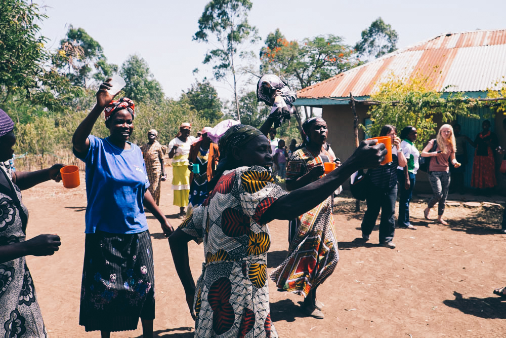Saying goodbye to  the  Rafiki Support Group, Kenya