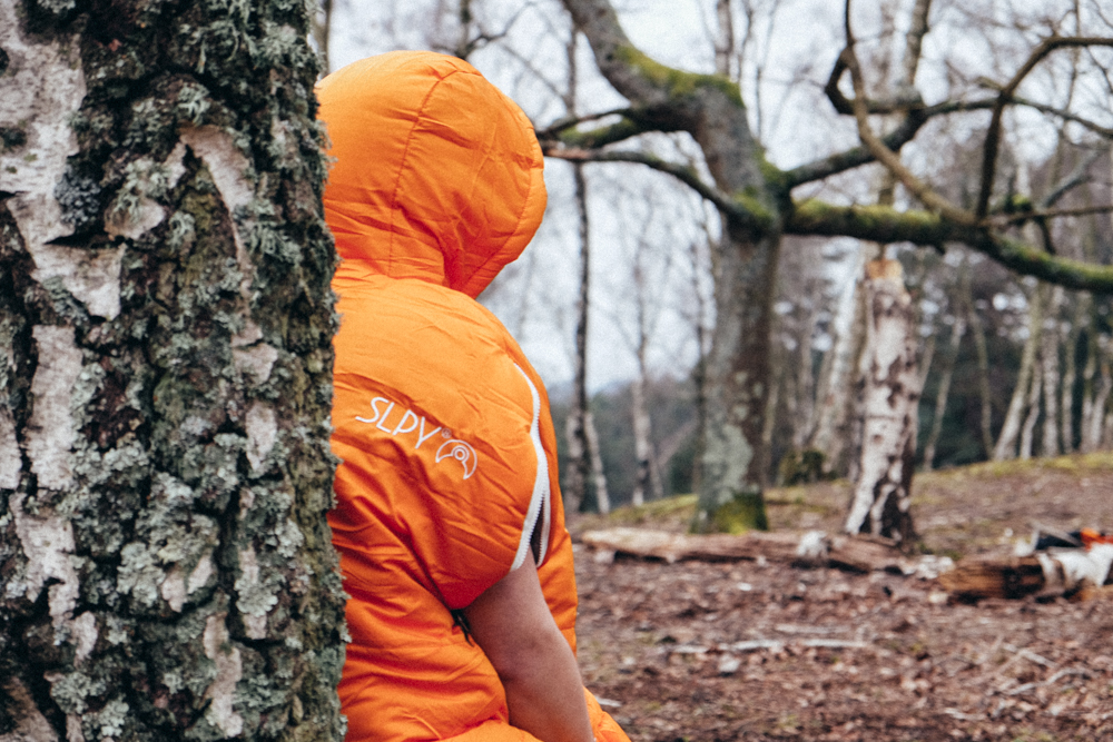 SLPY, WEARABLE SLEEPING BAG