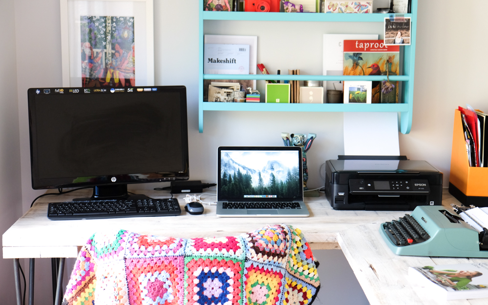 My Workspace (a defined working-from-home workspace)