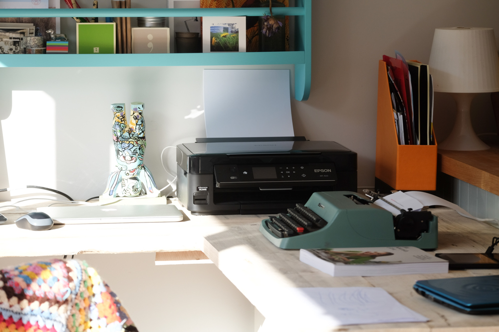 Workspace, a defined working-from-home space