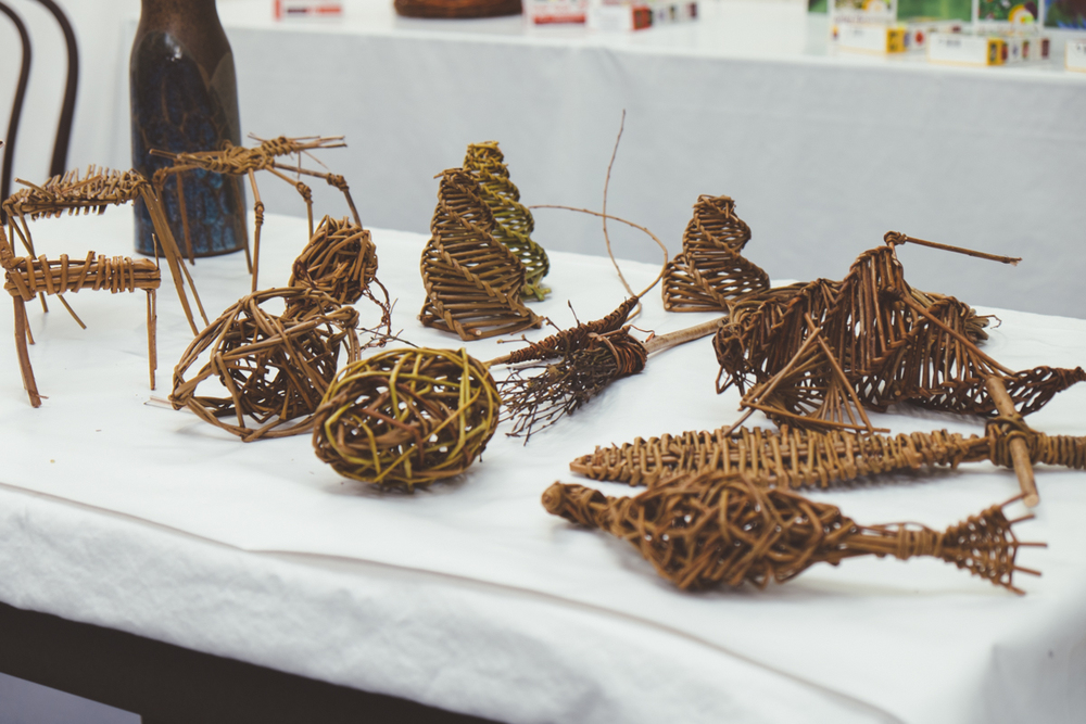 Judith Needham's Willow Sculpture for the Garden workshop at Roots, Shoots & Leaves