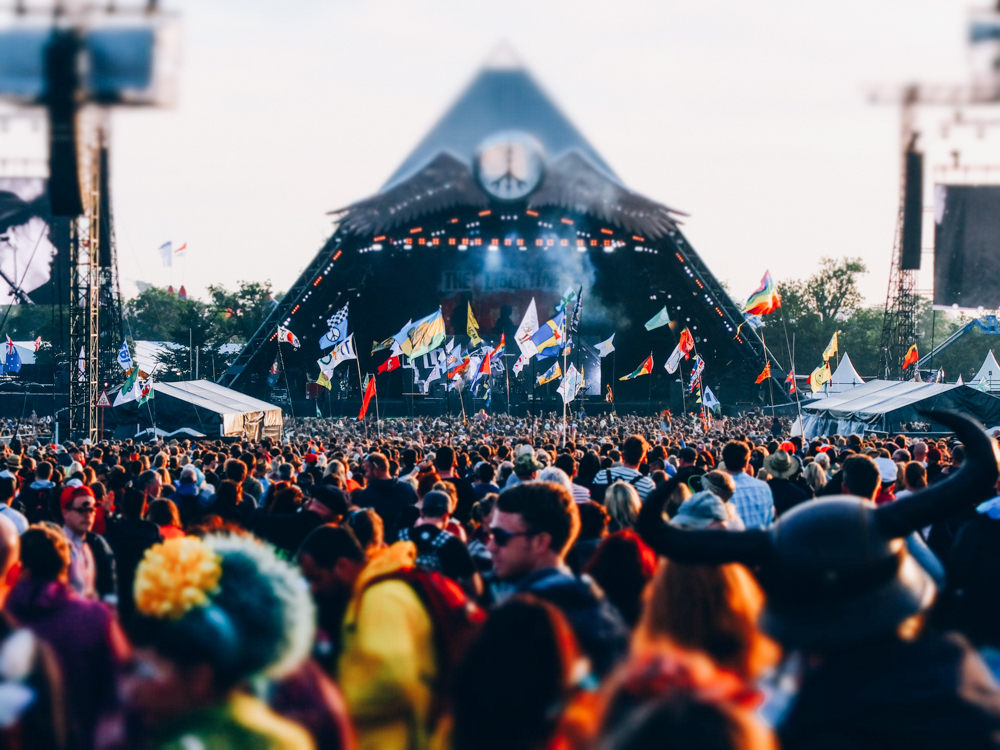 Glastonbury 2015 in Photos: Pyramid Stage, Friday night, surprise performance by The Libertines