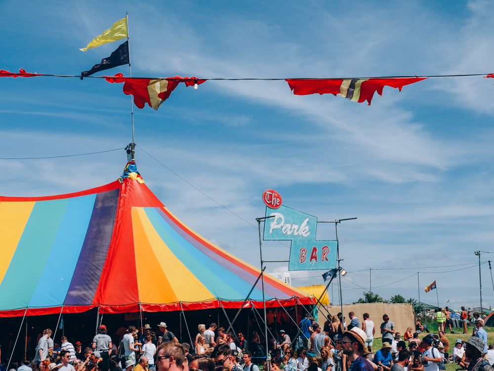 Glastonbury 2015 in Photos: The Park Bar