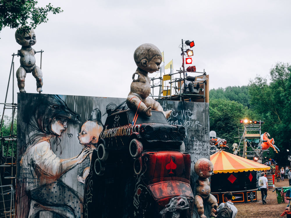 Glastonbury 2015 in Photos: Shangri Hell (a further set of photos from Shangri Hell can be found here)
