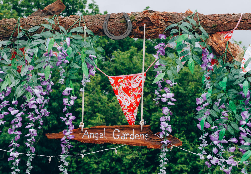 Photos of The Greencrafts Village, Glastonbury Festival 2015: Angel Gardens