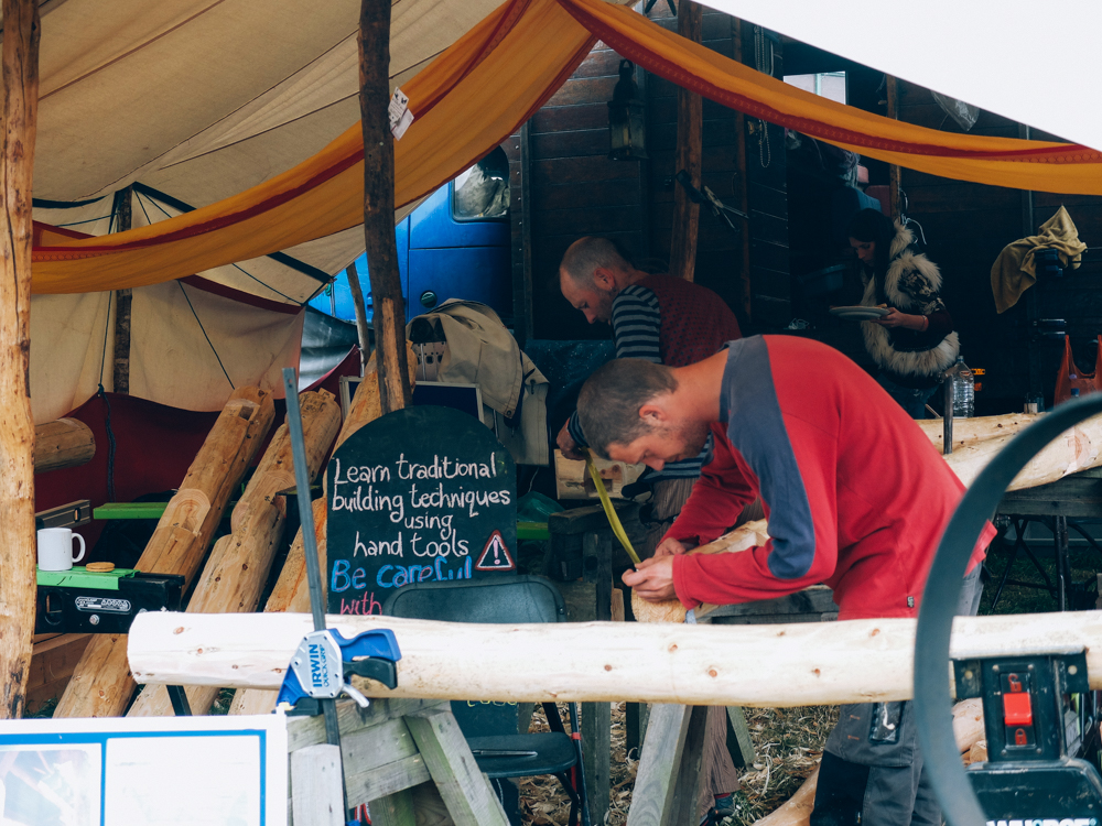 Photos of The Greencrafts Village, Glastonbury Festival 2015: