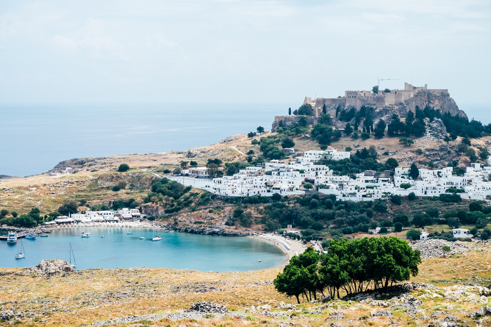 Visiting the Acropolis of Lindos