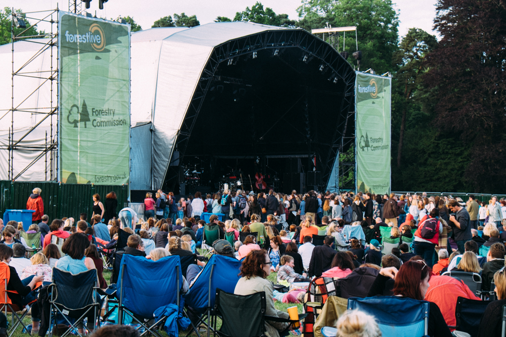 Forest Live Forestry Commission Outdoor Concerts