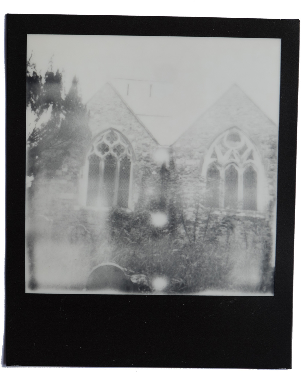 PHOTO TAKEN WITH POLAROID 1000 LAND CAMERA