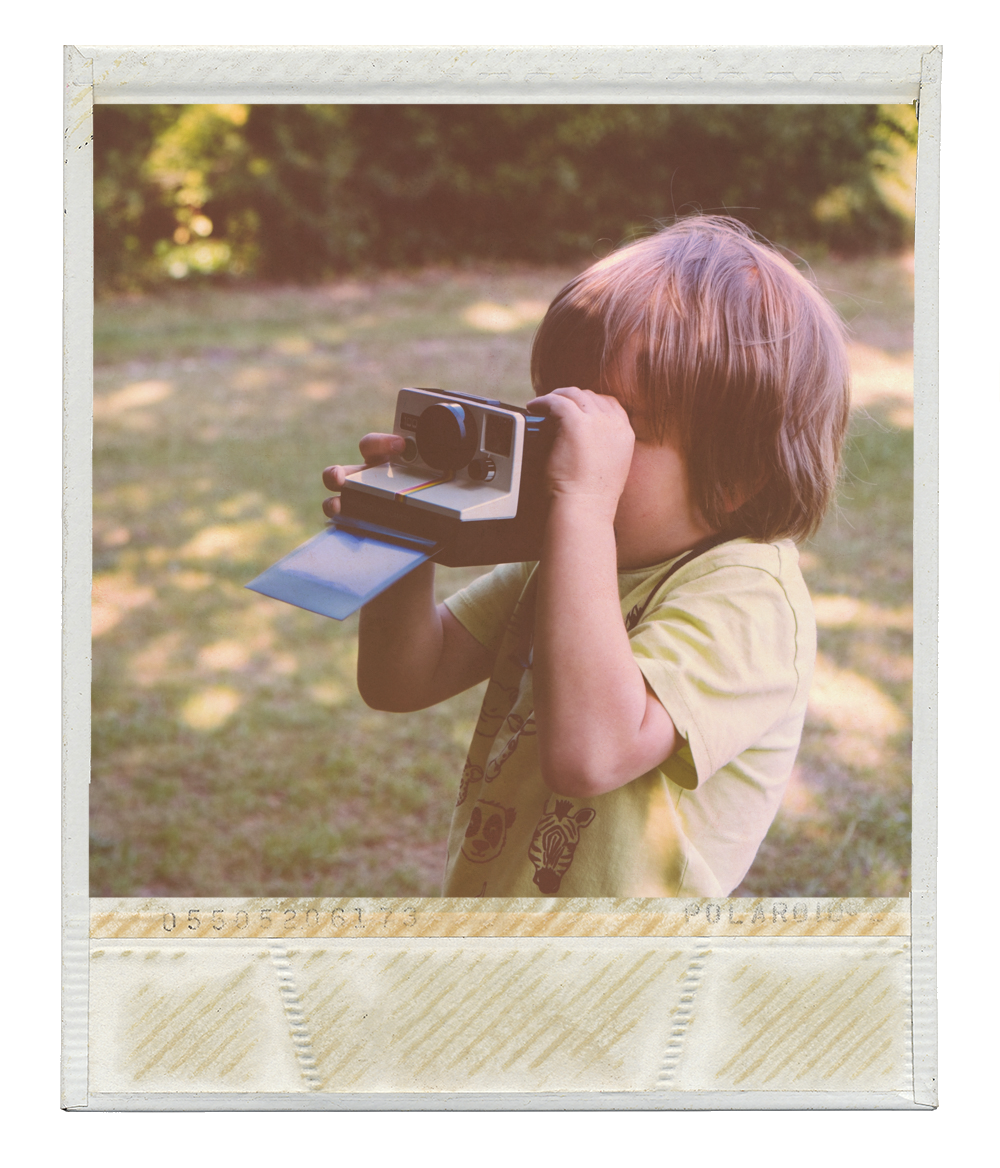 Make your own Polaroid style image