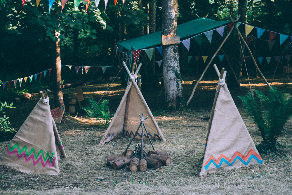 Dens at LIZZIES' WAY, CAMP BESTIVAL 2015