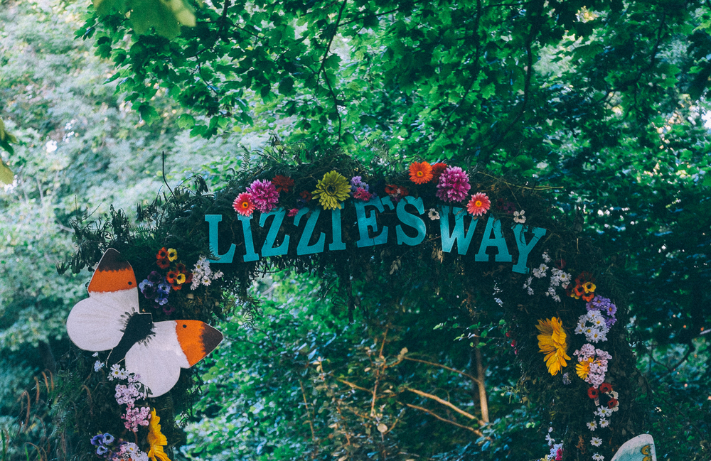 LIZZIES' WAY, CAMP BESTIVAL 2015