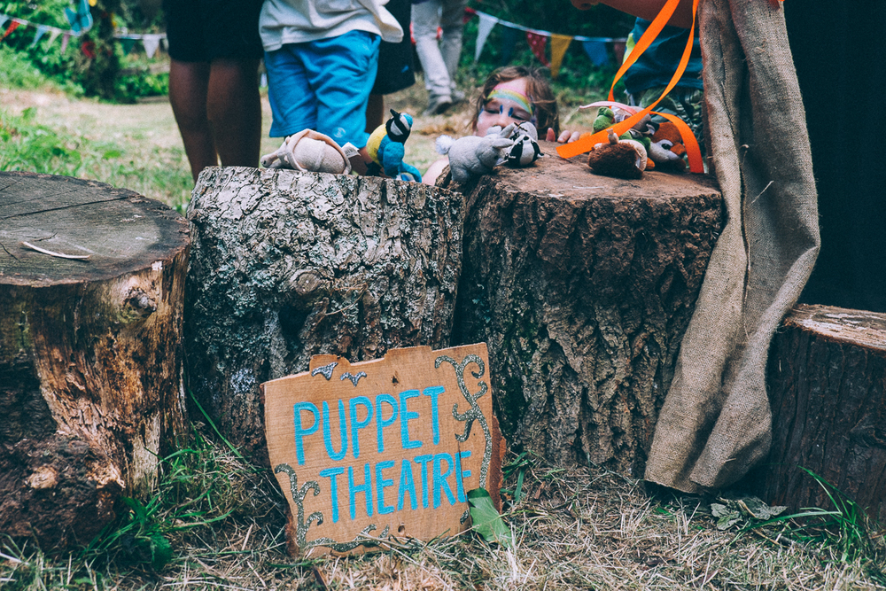 Puppet Theatre, Lizzie's Way, Camp BEsitval 2015
