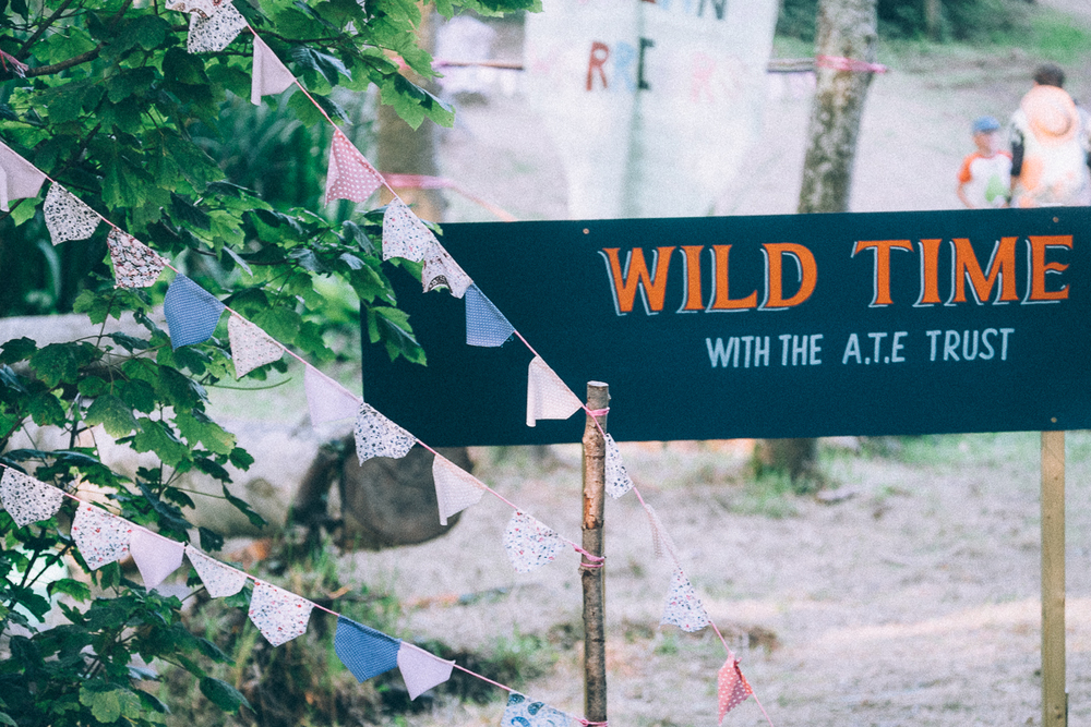 Wild time at Camp bestival 2015 with the A.T.E Trust