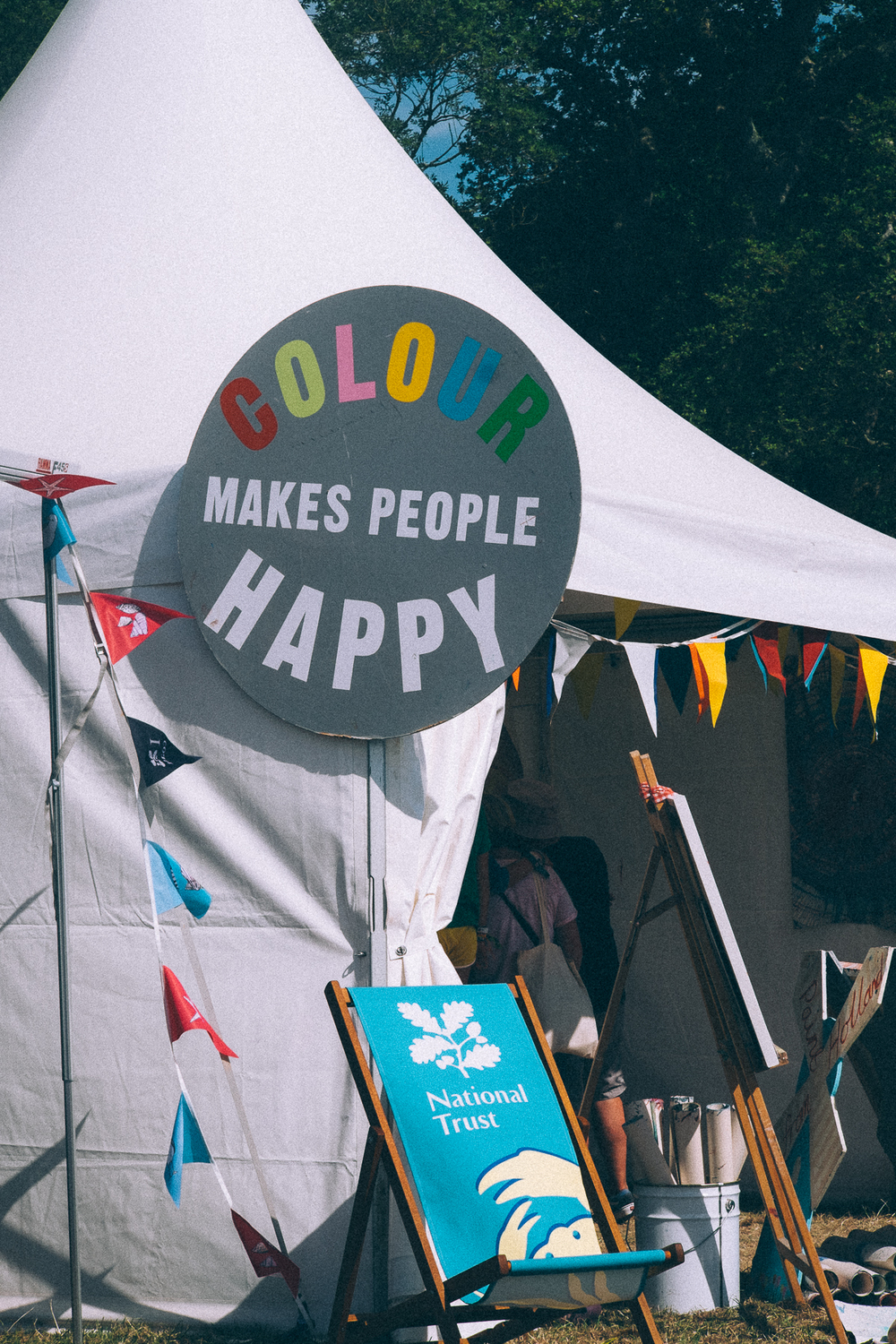 Colour makes People happy, Camp Bestival 2015