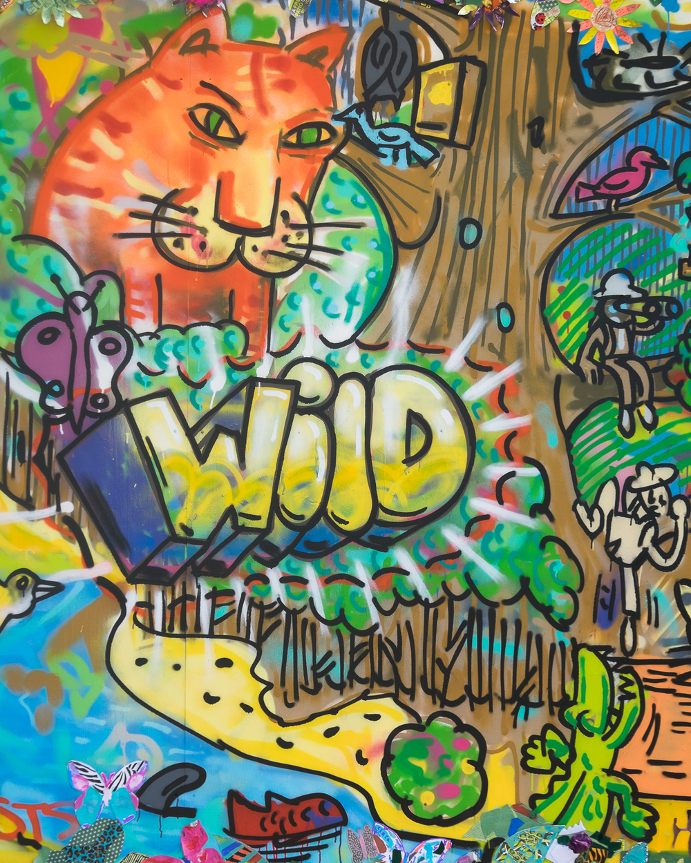 Art to save animals at  CAMP BESTIVAL 2015