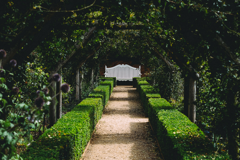 English Walled Garden , Mottisfont