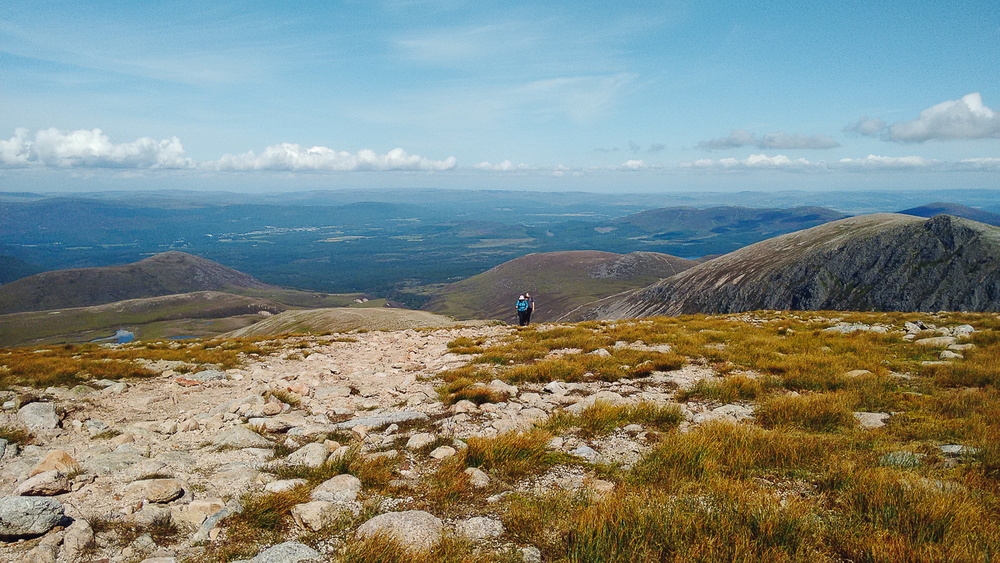 Braeriach, in the Cairngorm National Park