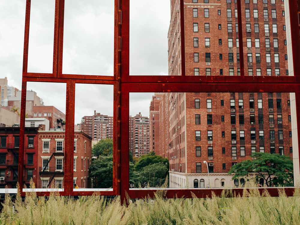 Photos of the High Line, Manhattan, New York