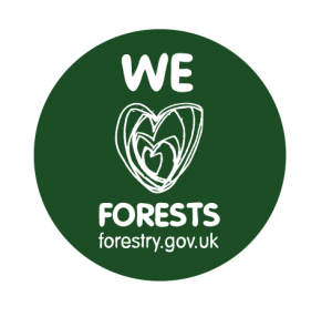 We Love Forests Logo