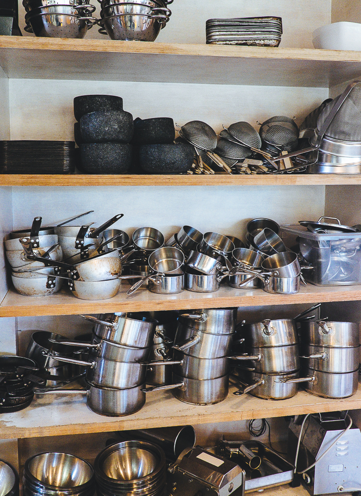 Pots & Pans at River Cottage