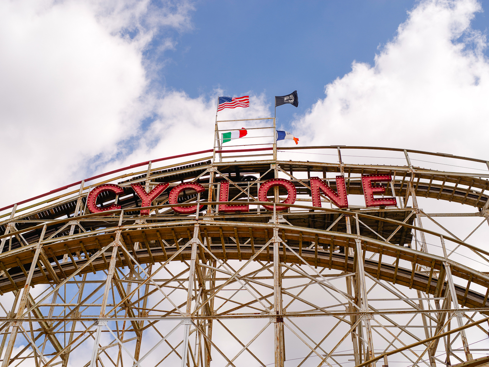 Photos from  Cyclone, Luna Park, Coney Island, New York