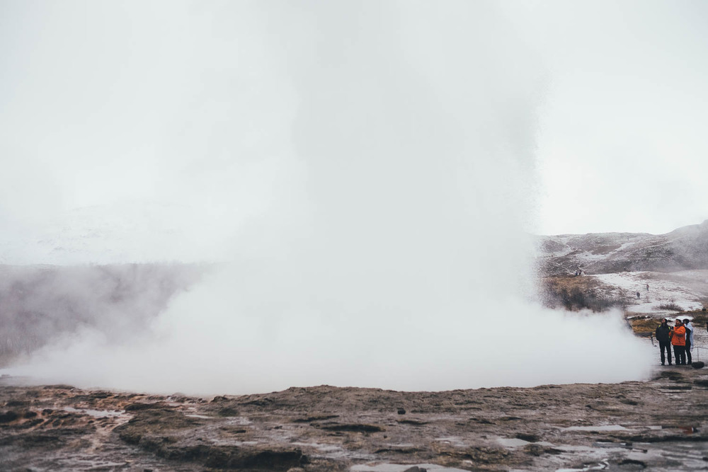 Photos of Geysir Geothermal Field, Iceland