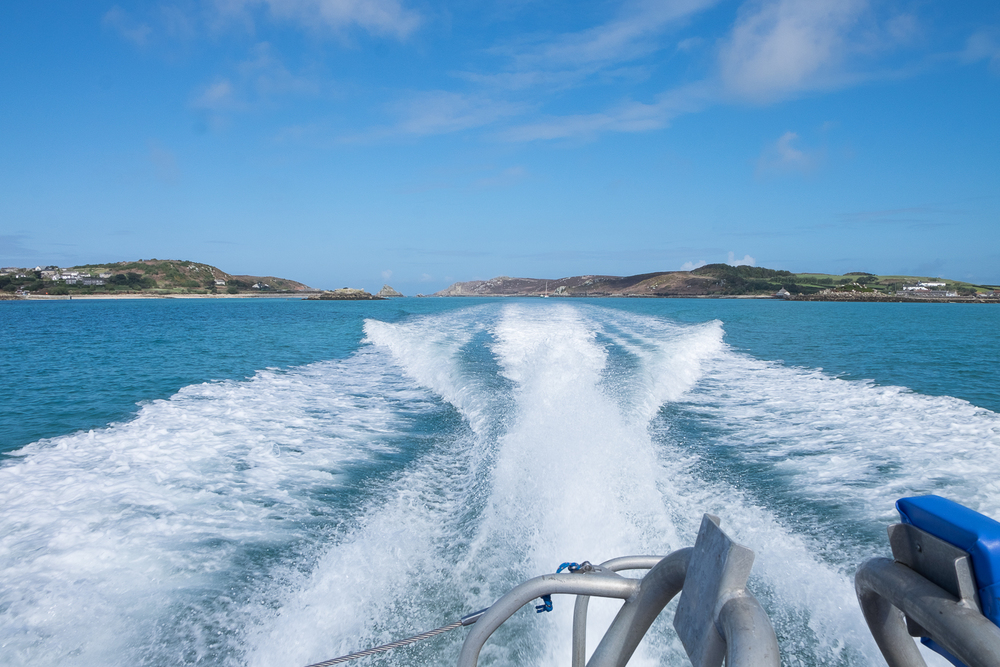 St Mary's to Bryher via Jetboat