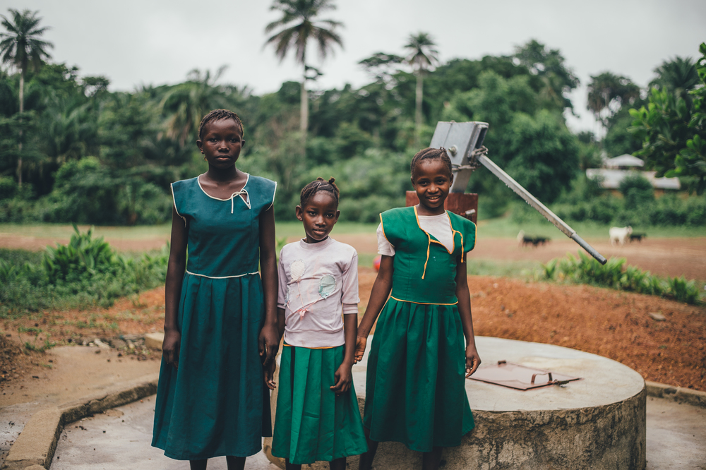 How Ebola affected schoolchildren in Sierra Leone - via fableandfolk.com