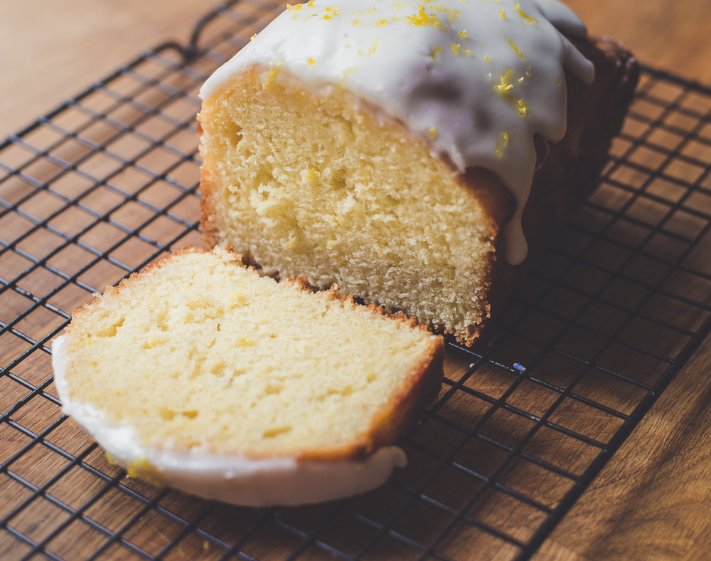 Lavender & Lemon Drizzle Cake Recipe