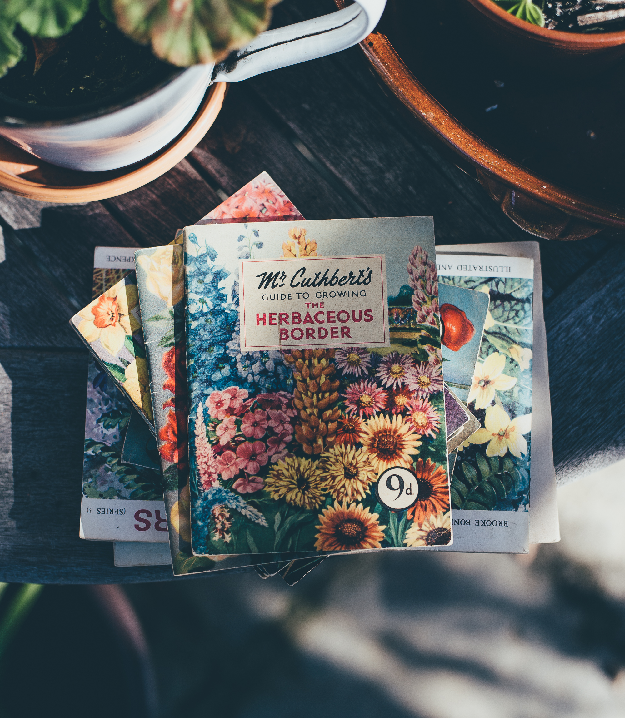 Vintage Garden Style - Mr Cutherbert's Guide to Growing